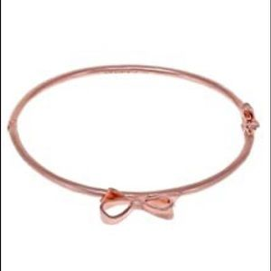 Kate Spade skinny bow bracelet-Rose Gold✨✨
